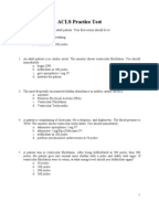 Acls questions and answers 2016 pdf