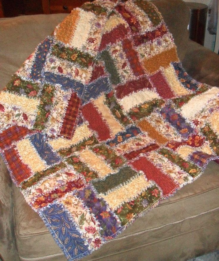 jelly roll rag quilt instructions
