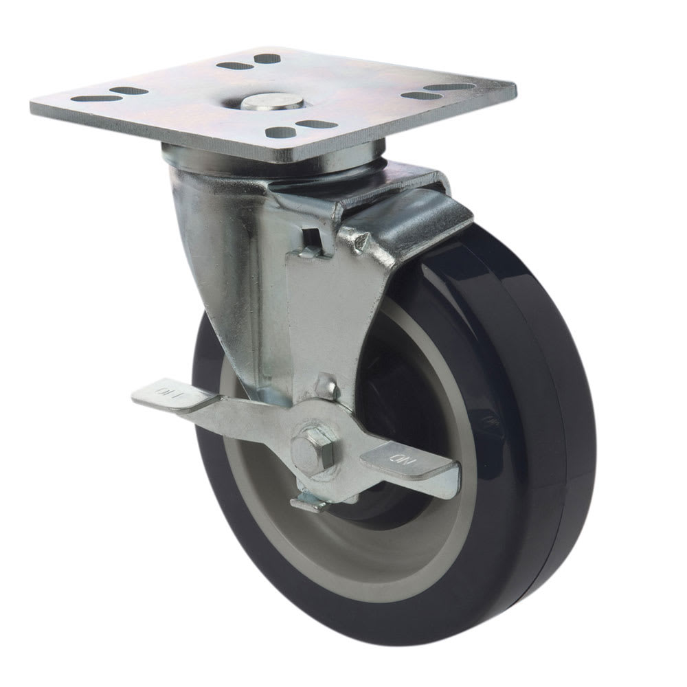 how to add brakes to casters