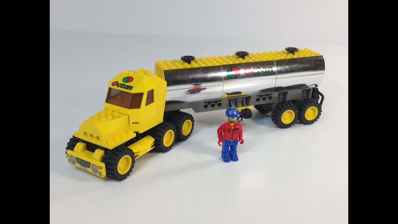 lego instructions for octan truck tanker