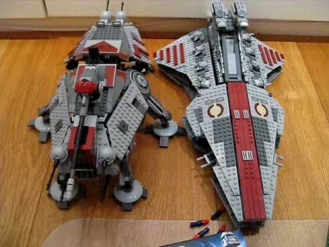 lego venator class republic attack cruiser instructions
