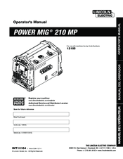 lincoln power mig 180c manual