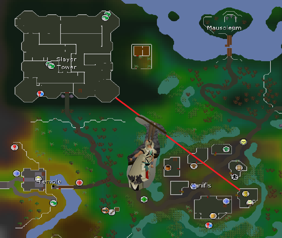 Osrs how to get to canifis